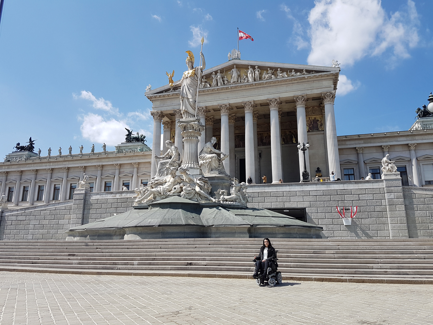 Vienna Photo Diary Austrian Parliament Building