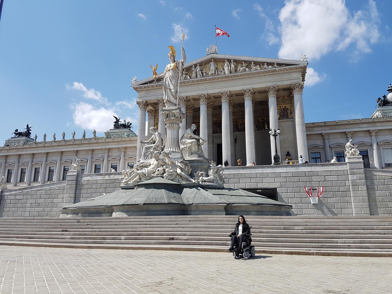 Vienna Photo Diary Austrian Parliament Building