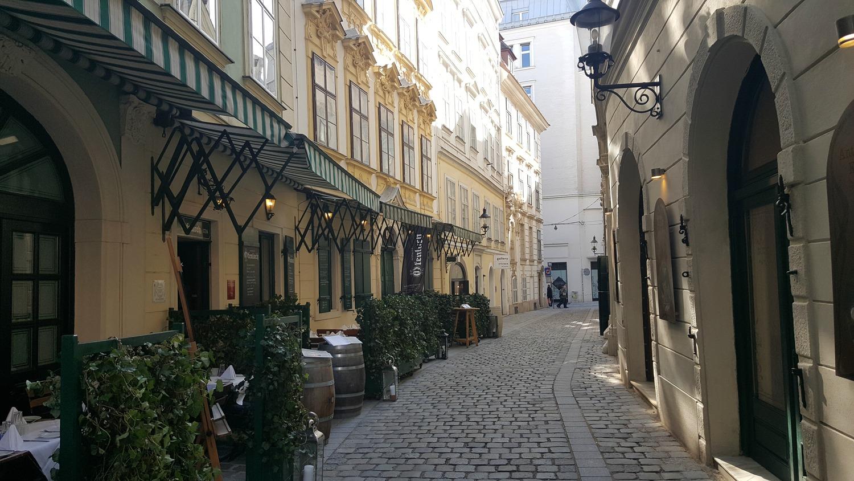 Vienna Photo Diary side streets