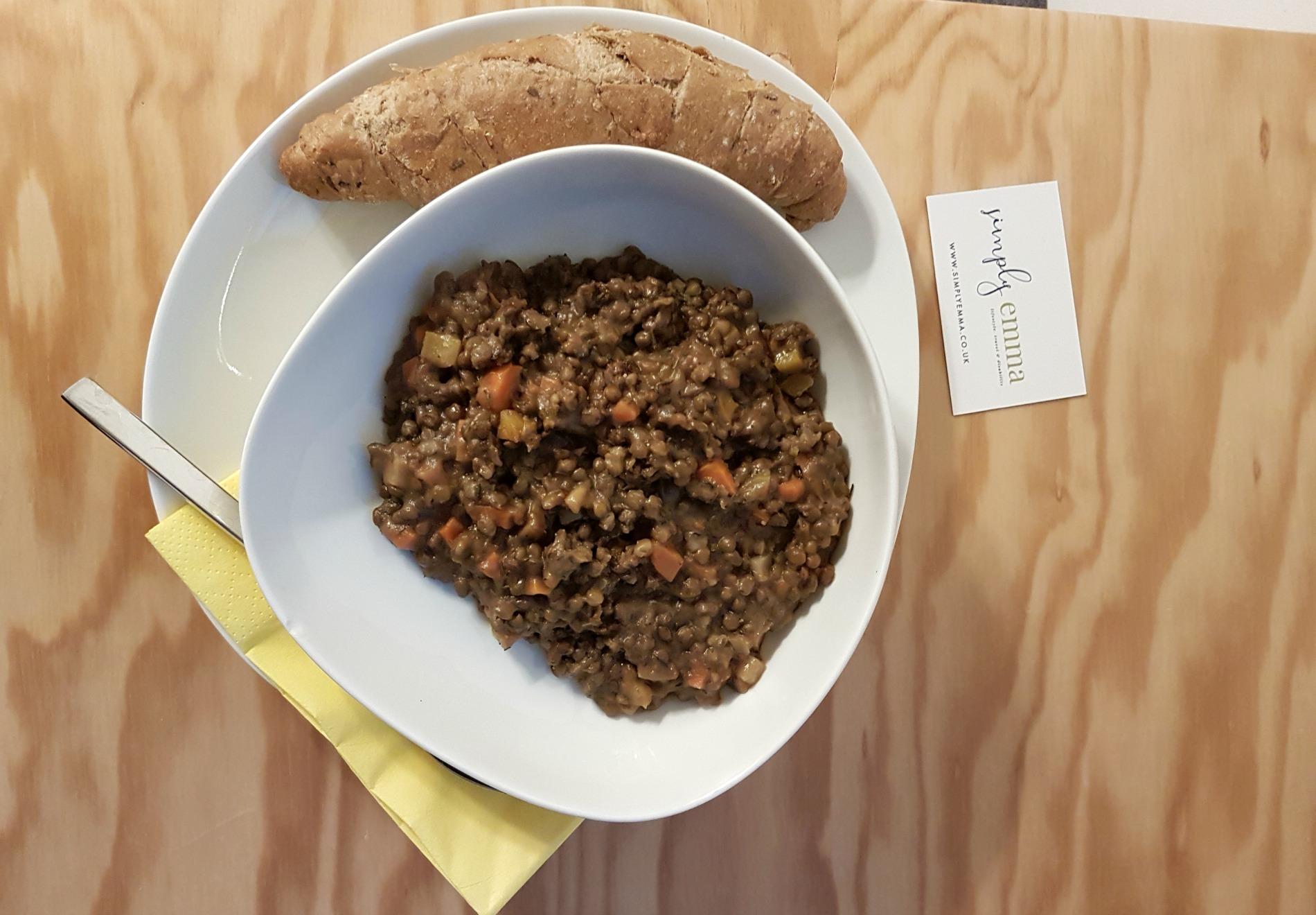 hotel-schani-vegan lentil stew
