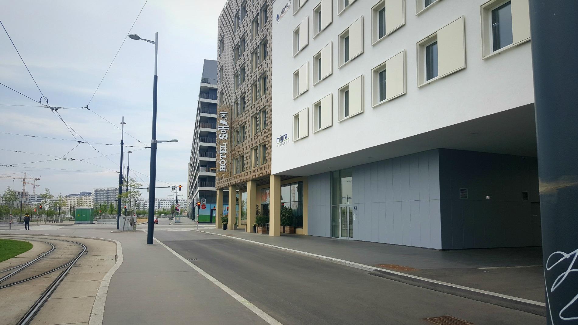 hotel-schani-wien- Karl-Popper-Straße