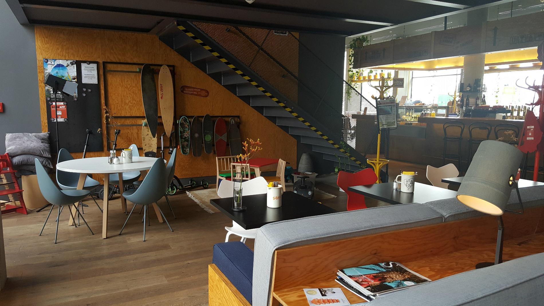 hotel schani wien lobby skateboard hire simply emma. Black Bedroom Furniture Sets. Home Design Ideas