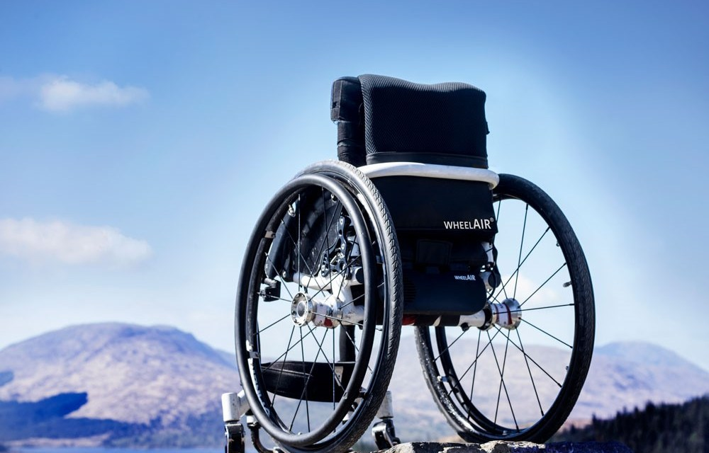 WheelAir®: The World's Exciting New Wheelchair Cushion