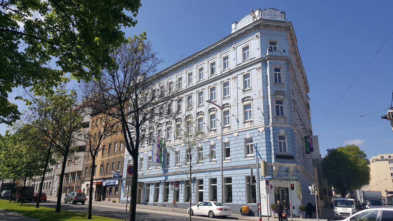 Vienna Photo Diary Hotel Donauwalzer
