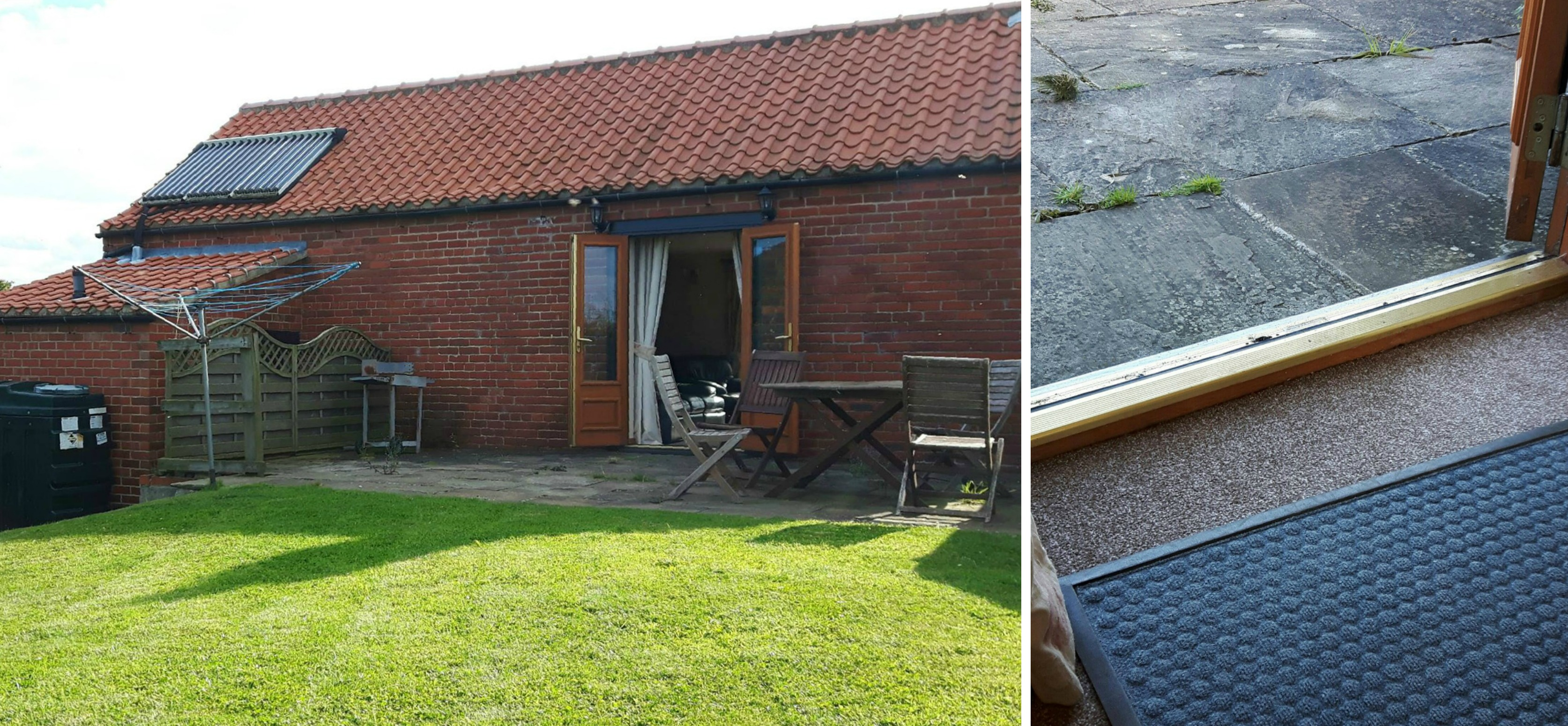 wheelchair accessible holiday cottage Sneaton Thorpe door threshold