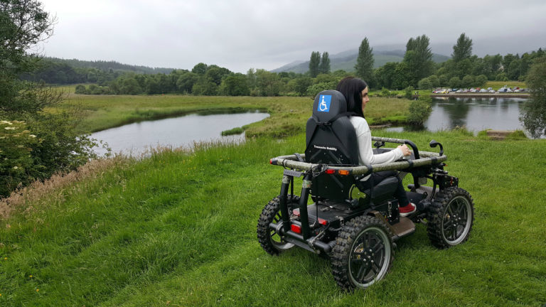 Trossachs Mobility all-terrain-wheelchair callander scotland