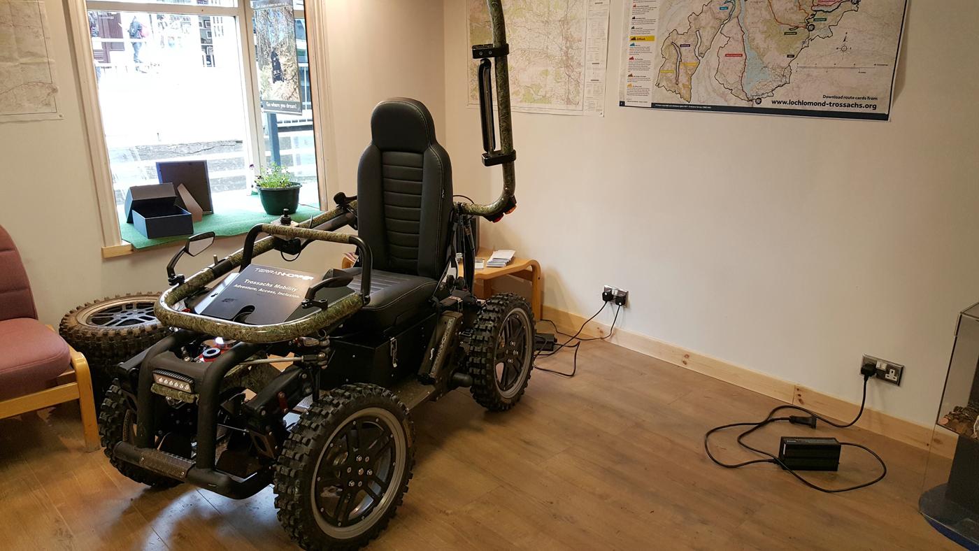 Trossachs Mobility shop callander all terrain hopper