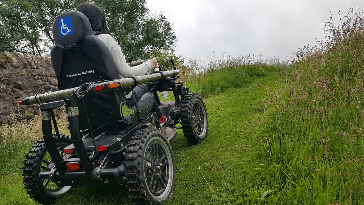 Trossachs Mobilitysco Ramblers callander all-terrain-wheelchair