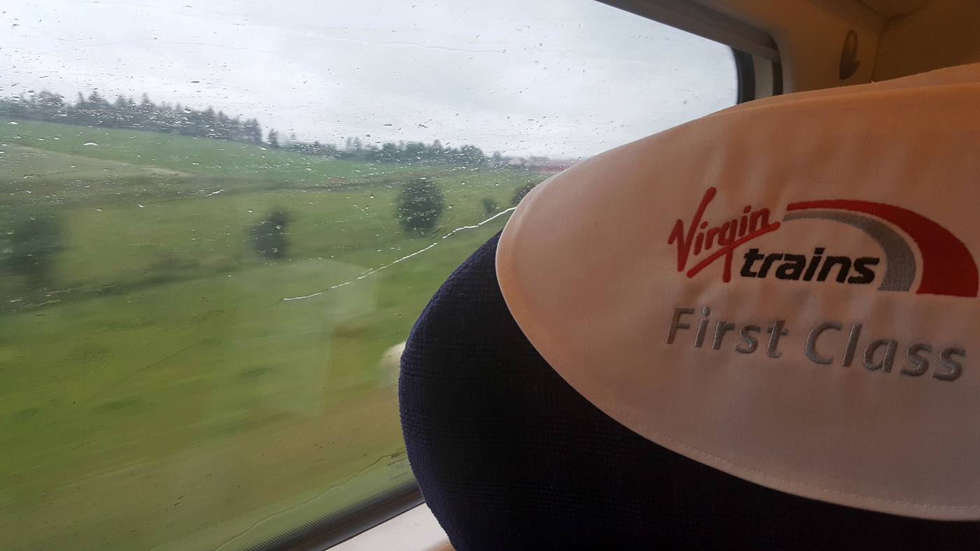 Virgin Trains first class carriage J