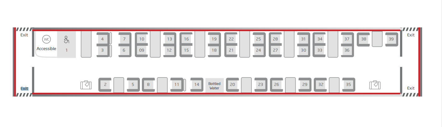 virgin trains seating plan coach j Pendolino Coaches