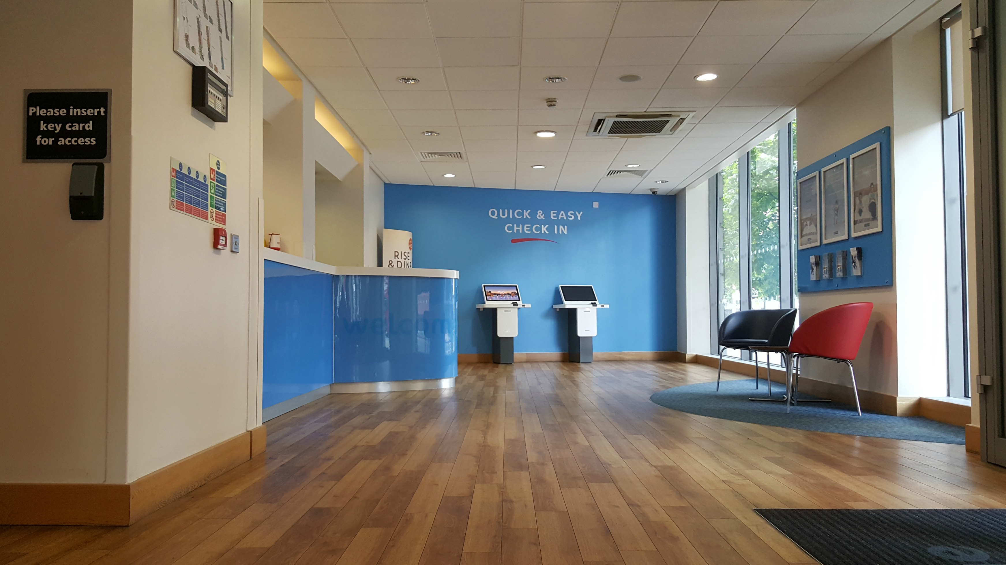 Travelodge Waterloo London reception