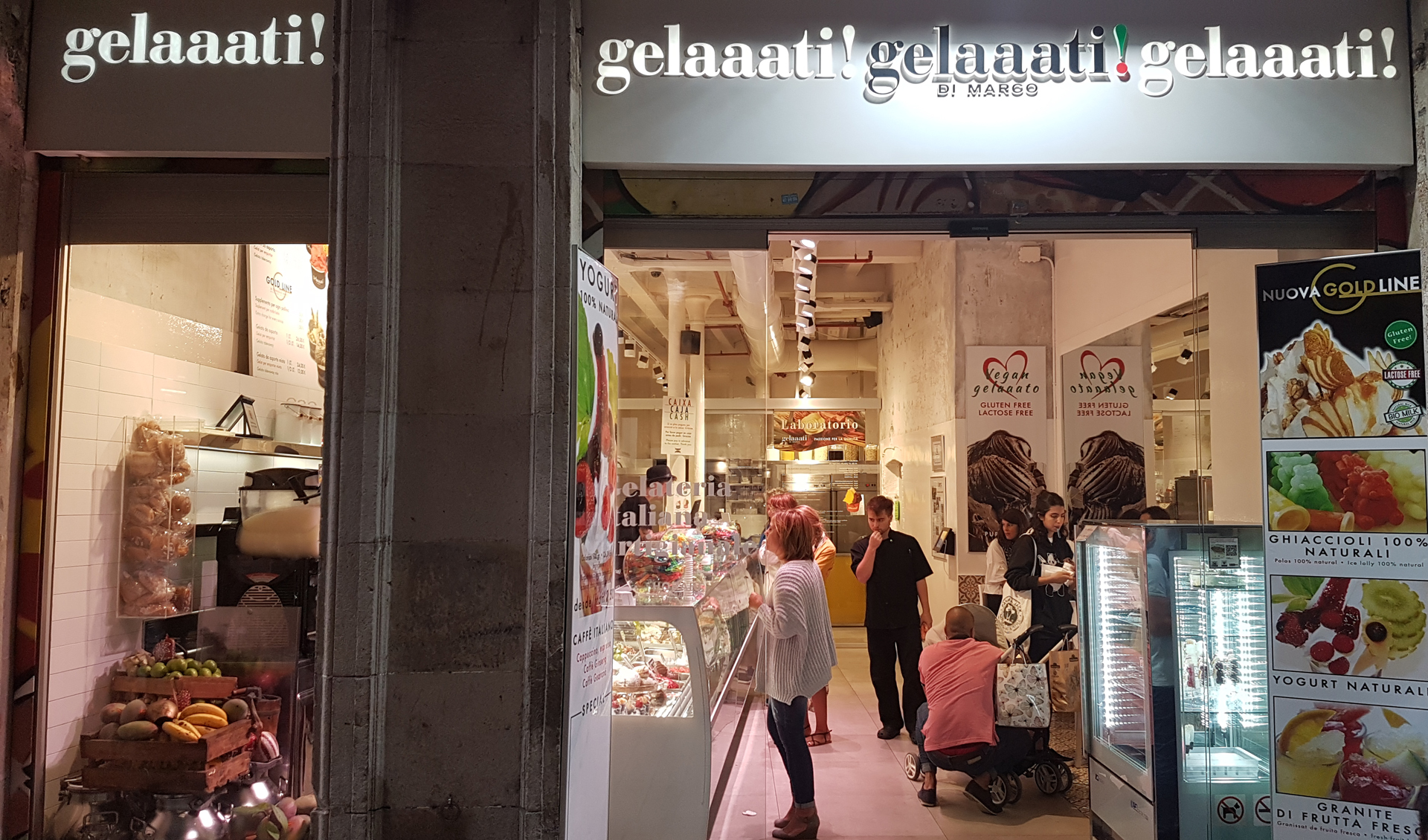 accessible-travel-guide-to-barcelona-Gelaaati Di Marco-vegan-gelato