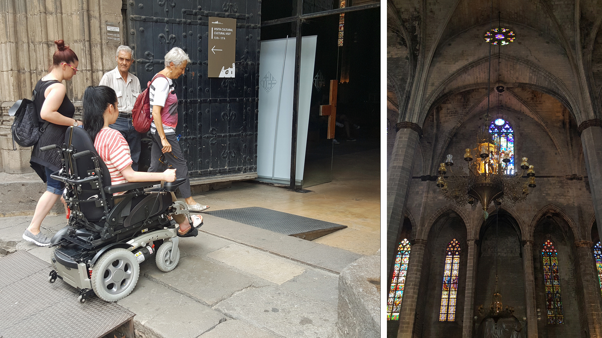 accessible-travel-guide-to-barcelona-The Basilica of Santa Maria del Mar