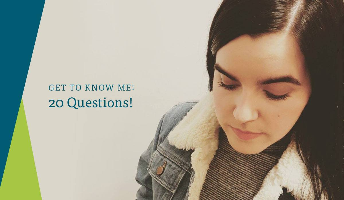 Get To Know Me 20 Questions by Simply Emma