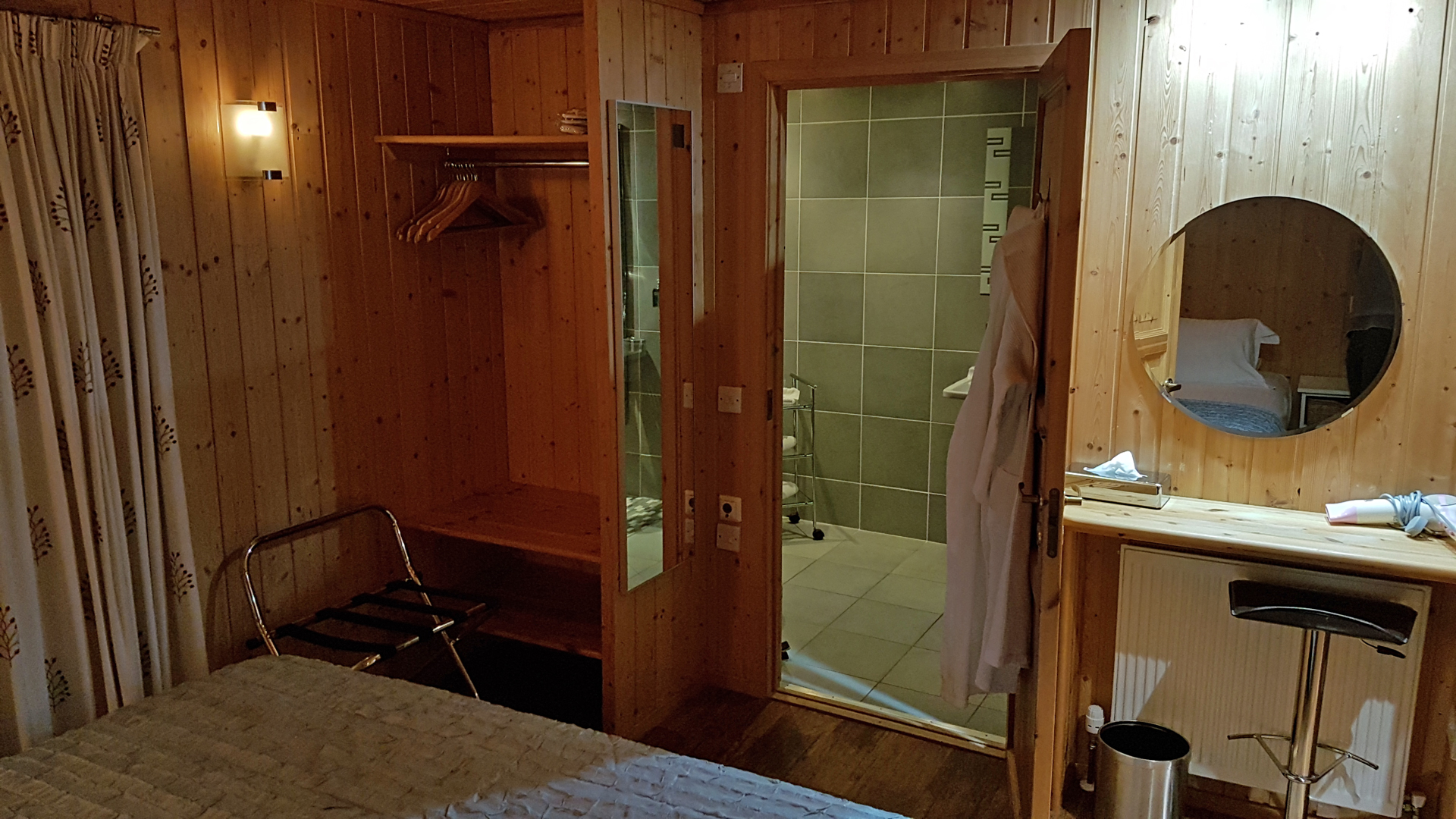Second bedroom at The Ramsay Airhouses Luxury Self Catering Lodges in Scottish Borders