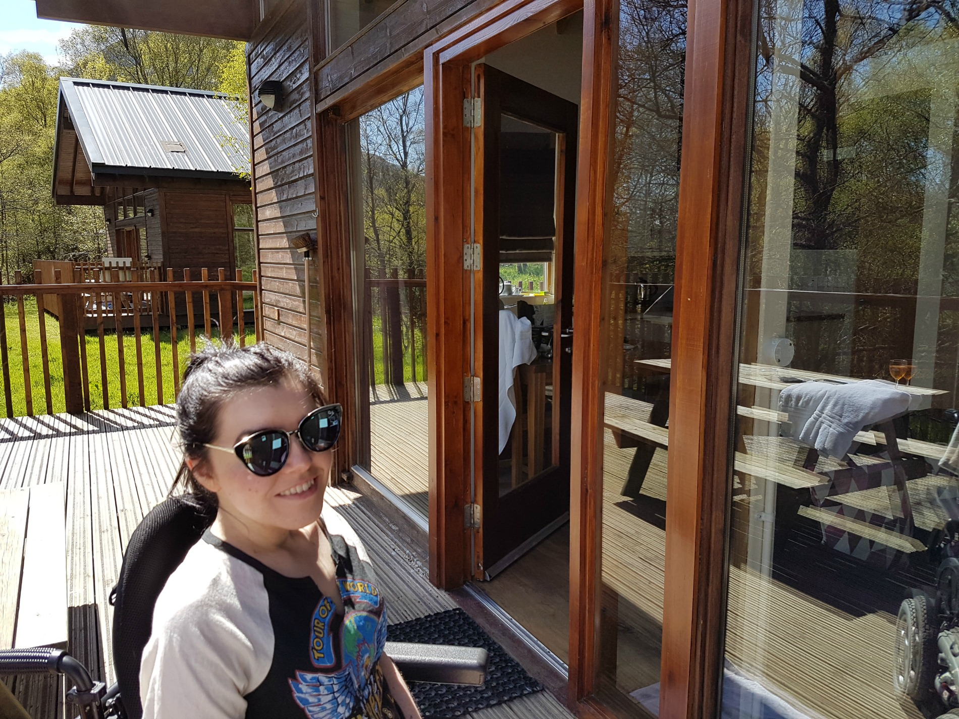 Forest Holidays Strathyre Accessible Silver Birch Cabin: My Top 5 Best Travel Moments of 2017
