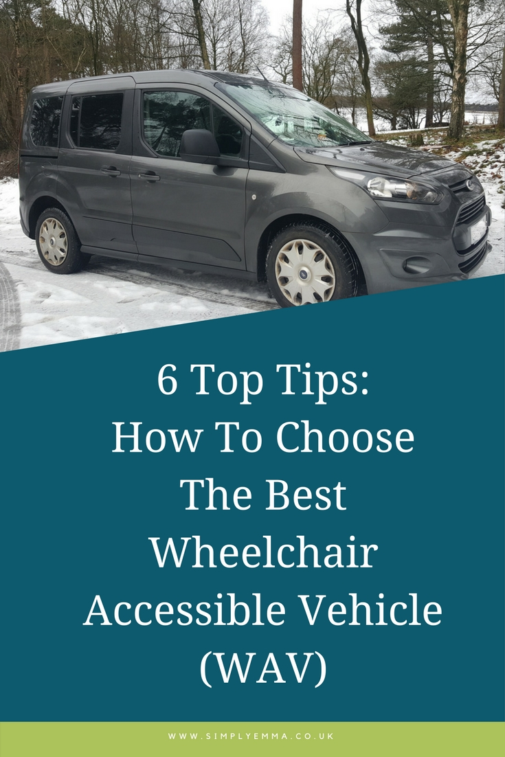 6 Top Tips How to Choose The Best Wheelchair Accessible Vehicle (WAV) pinterest