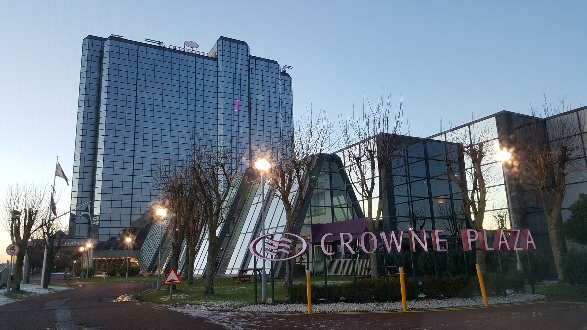 Crowne Plaza Glasgow hotel review