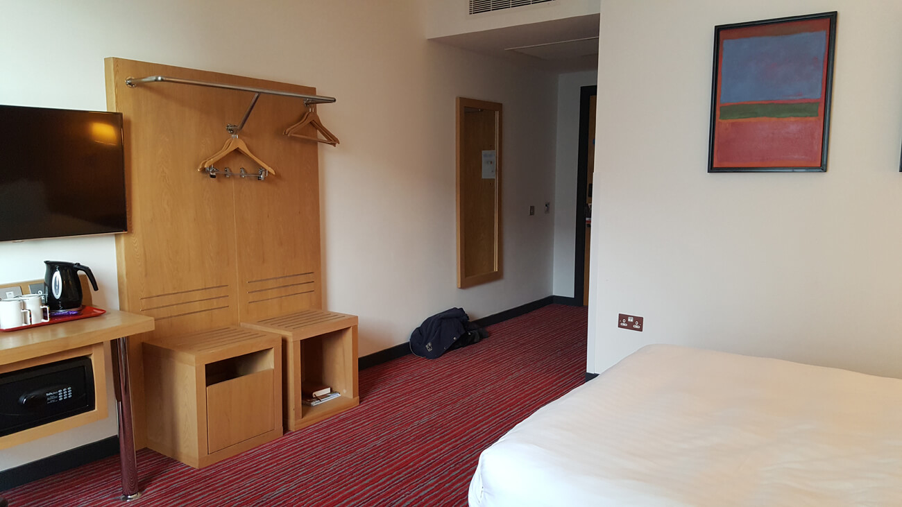 Wheelchair accessible room at Park Inn by Radisson Aberdeen