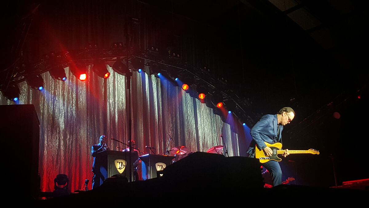 Joe Bonamassa at AECC Aberdeen Wheelchair Access & Gig Review