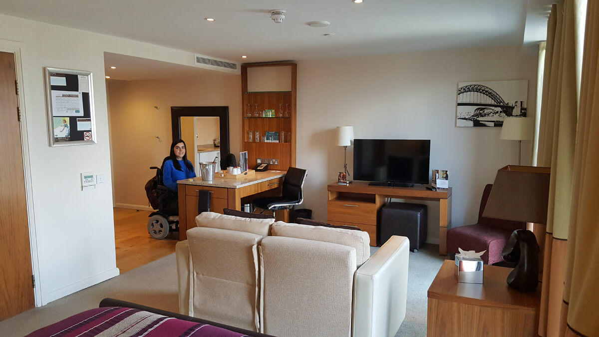 Staybridge Suites Newcastle Wheelchair Access Review Accessible Suite With Kitchen Breakfast
