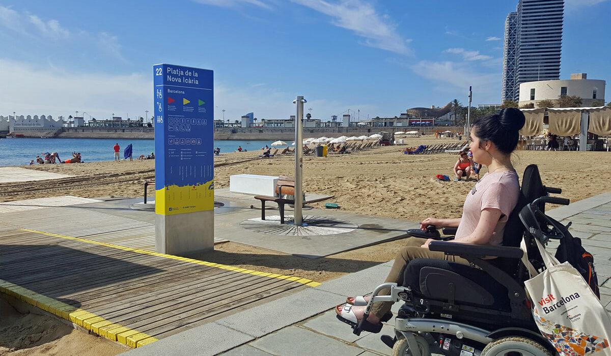 visiting-nova-icaria-beach-barcelona-in-a-wheelchair-main-image