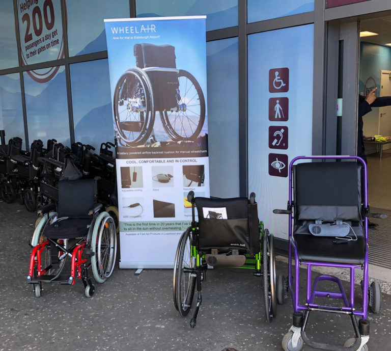 wheelAIR on chairs available for trial