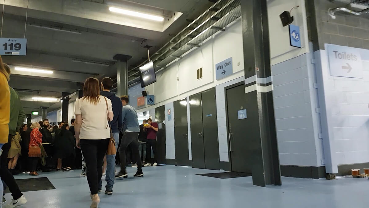 Accessible toilets and changing places at Manchester Etihad Stadium