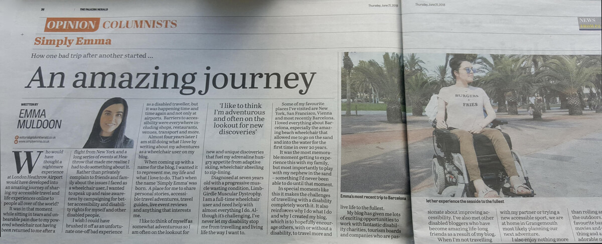 Things I've Loved in June: Emma's newspaper column for The Falkirk Herald.