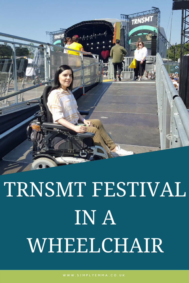 TRNSMT Festival in a wheelchair