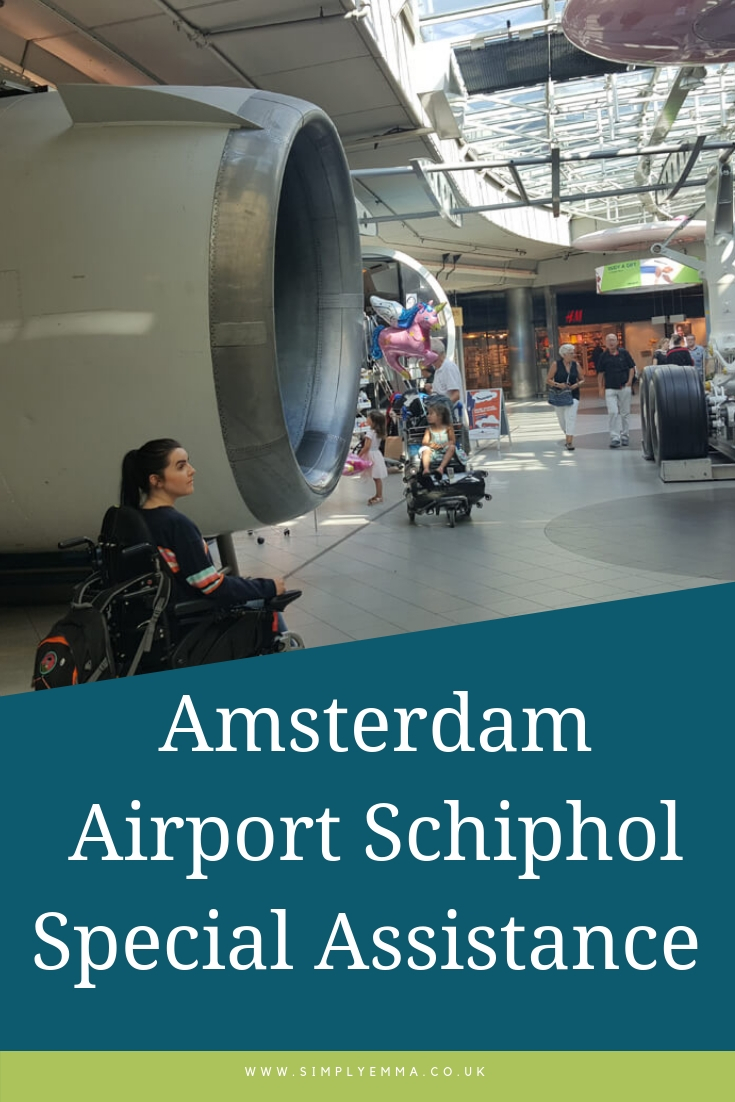 Amsterdam Airport Schiphol Special Assistance Pinterest image