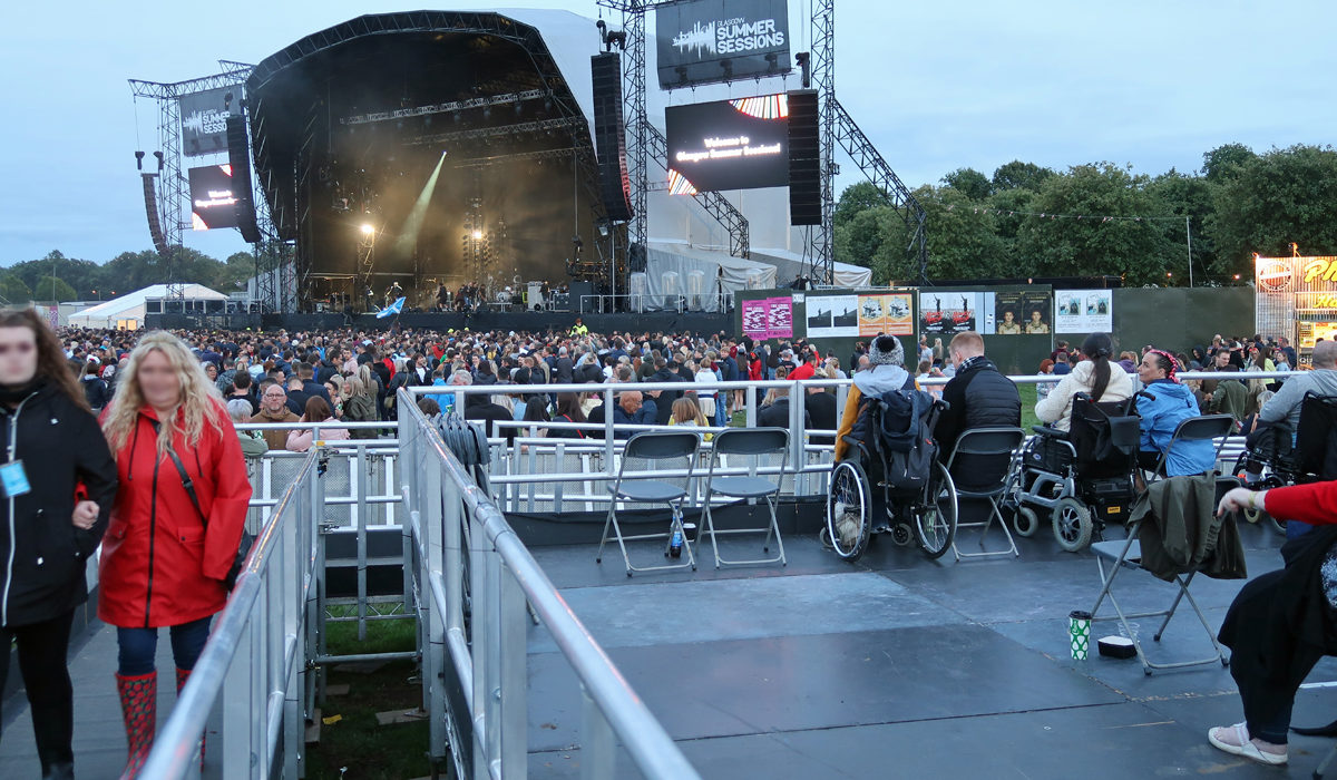 Glasgow Summer Sessions In A Wheelchair | Accessibility Review | Kings of Leon