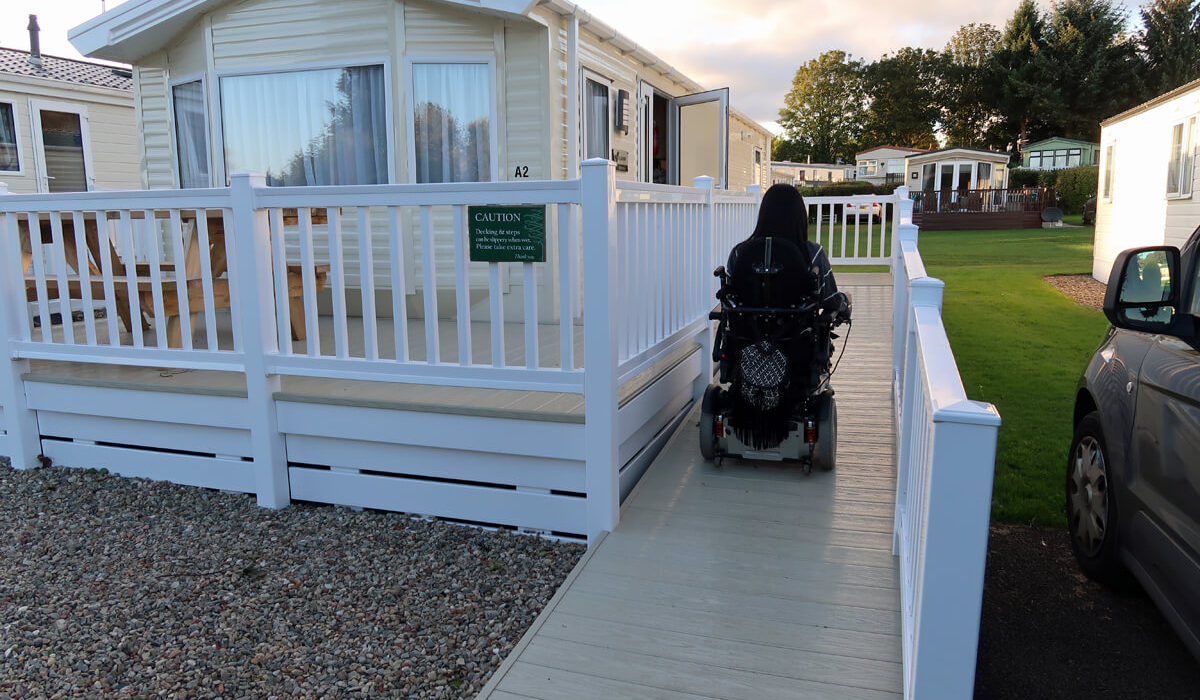 Blairgowrie Holiday Park: The Perfect Wheelchair Accessible Caravan Holiday
