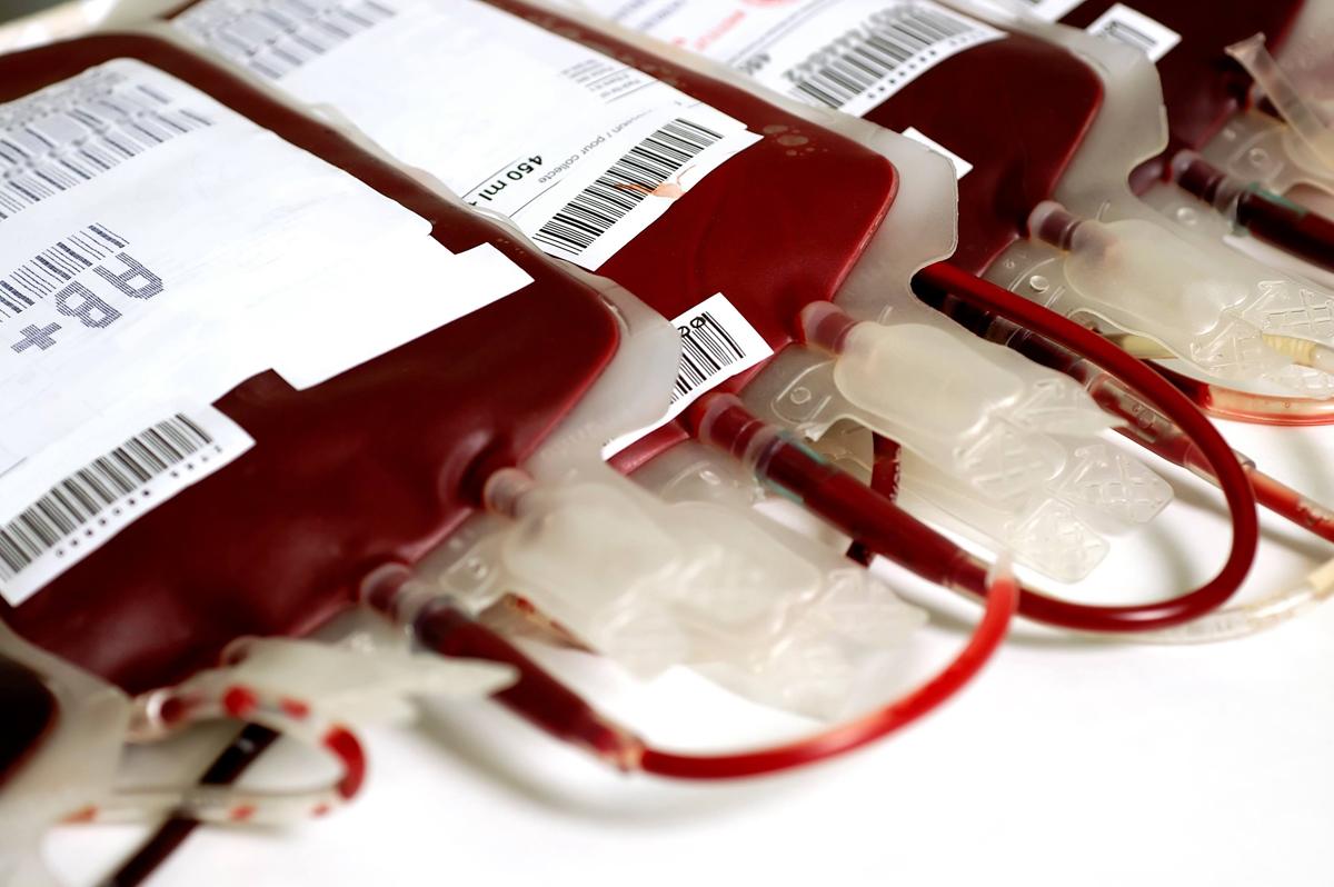 blood transfusion bags