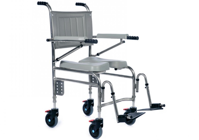 An image of Emma's Osprey 710 adult attendant shower chair.