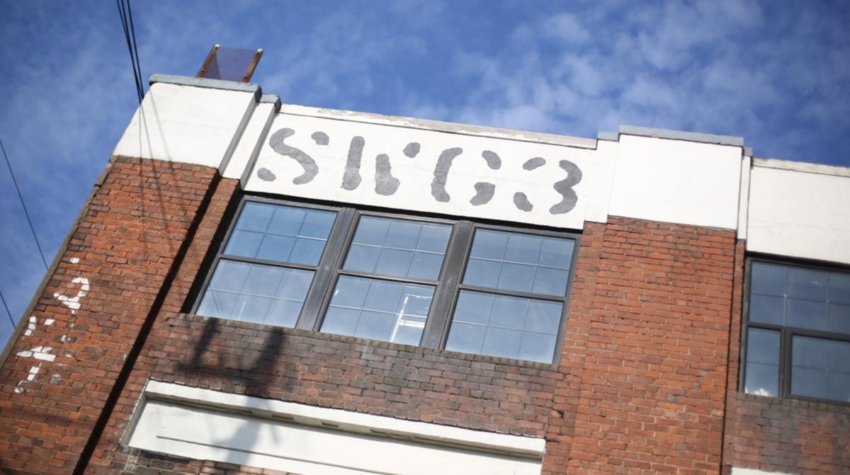 SWG3 Glasgow exterior shot.