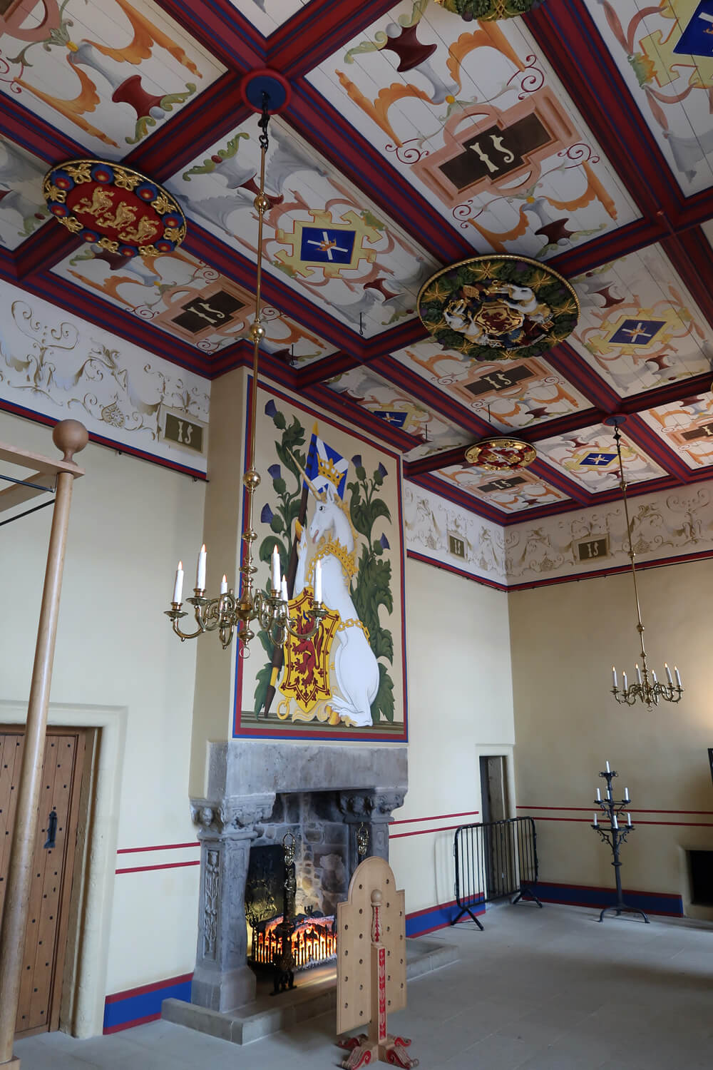 The Royal Palace at Stirling Castle