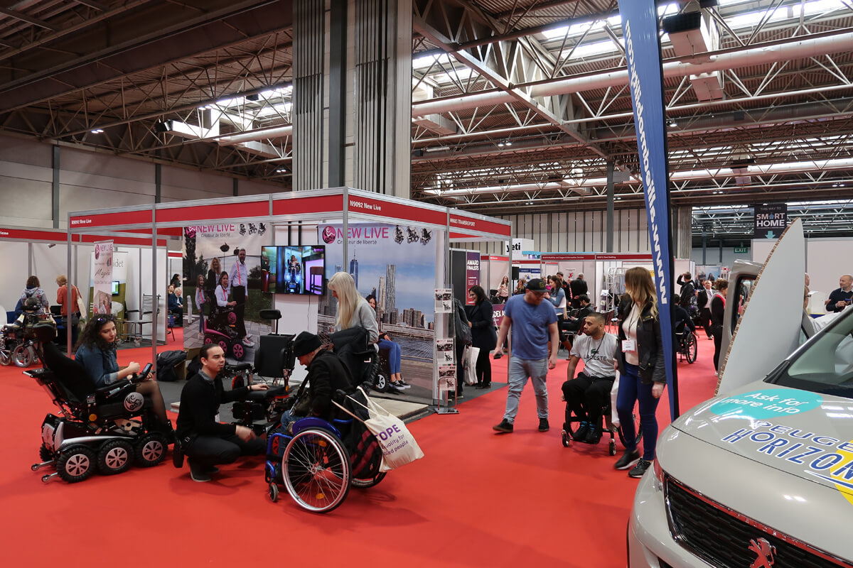 Naidex 45 exhibitors