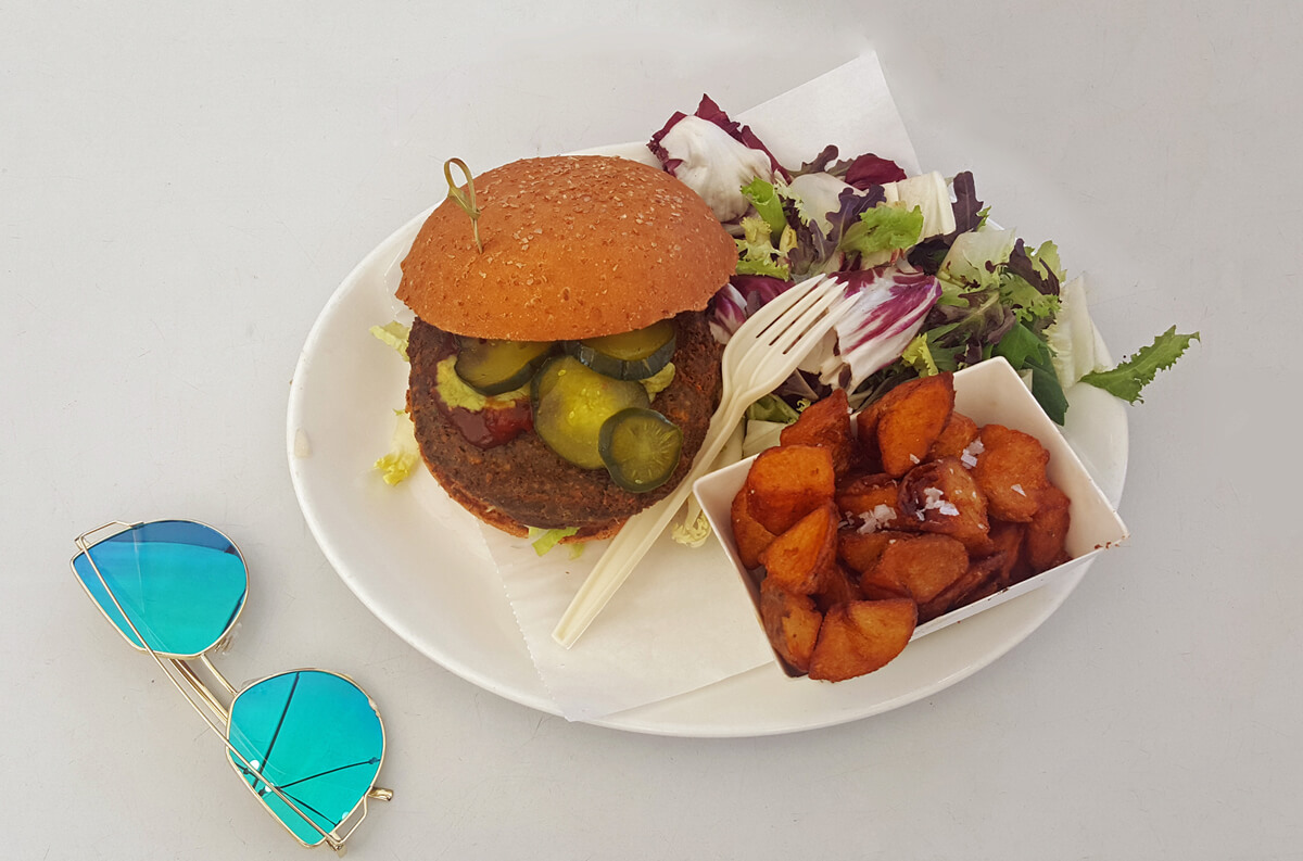 The Gran Vegano burger from Bacoa Burger