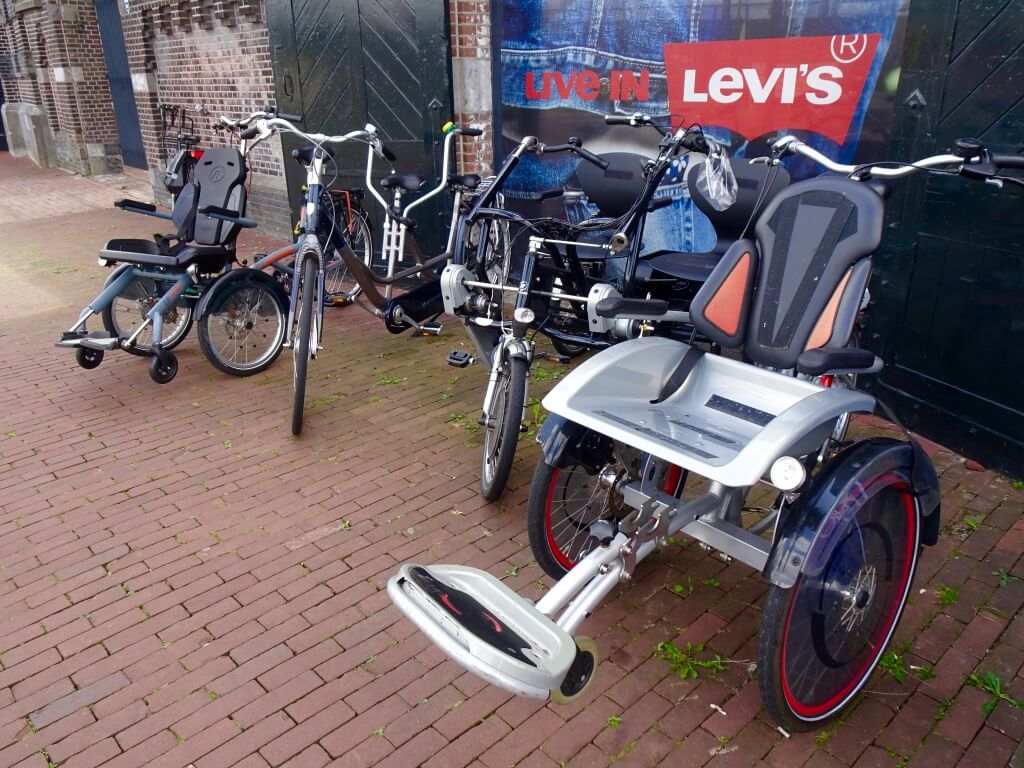Accessible bikes to rent from Star Bikes Rental.