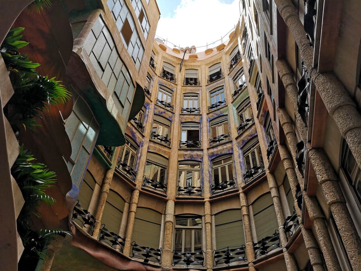 Interior of Casa Milà