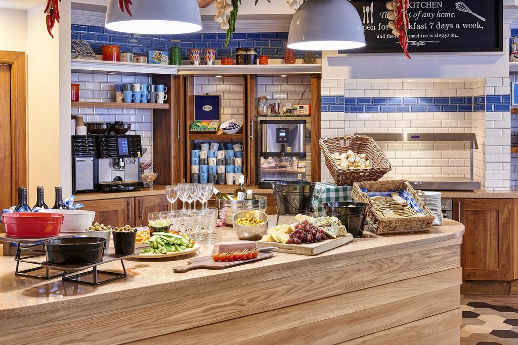 Staybridge Suites Liverpool breakfast buffet.