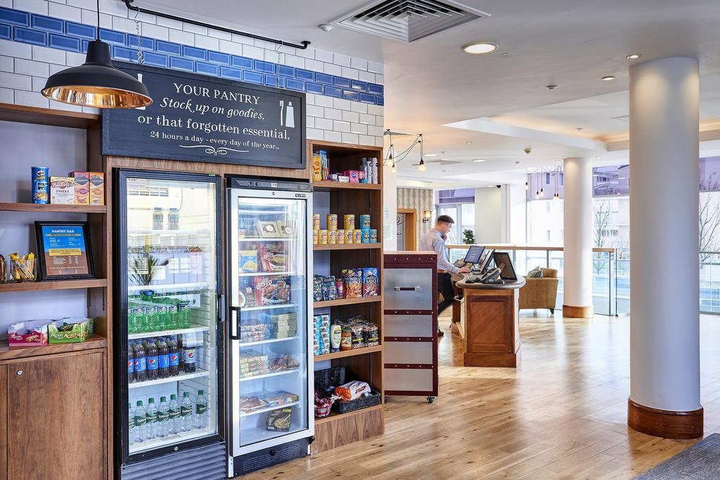 Staybridge Suites Liverpool Grab & Go pantry.