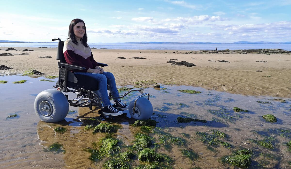 WheelEEZ® Beach Wheelchair Conversion Kit Makes Beach Days Accessible
