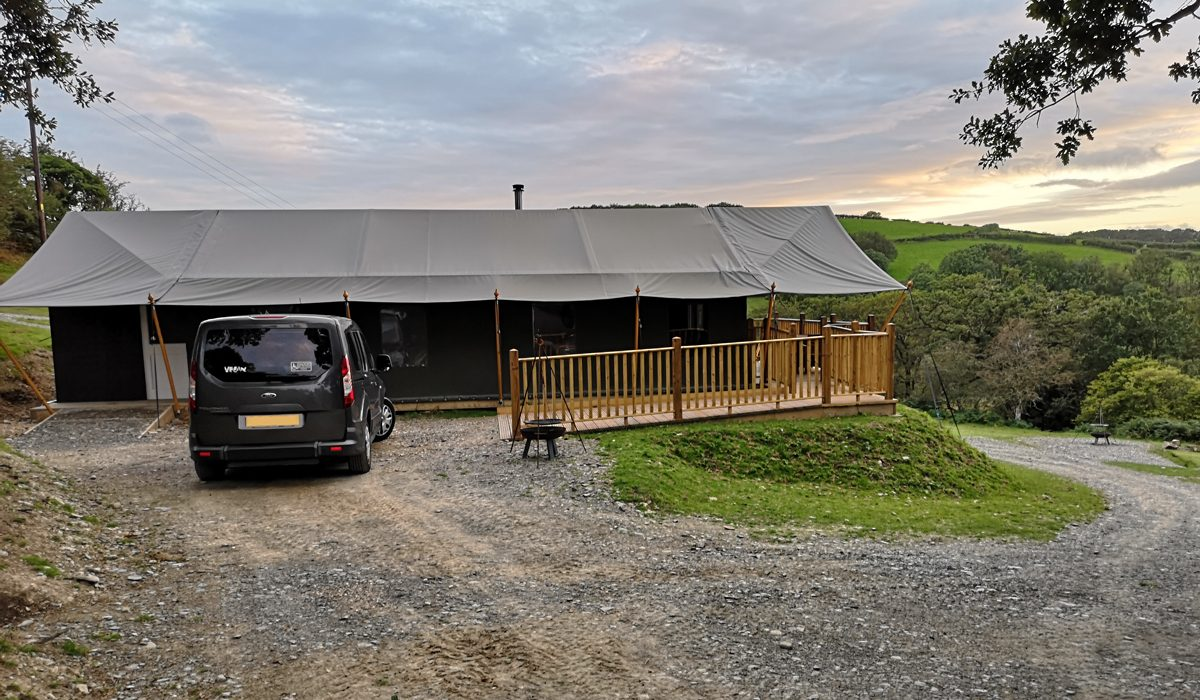 Wheelchair Accessible Glamping In A Safari Tent | Canvas and Campfires Review