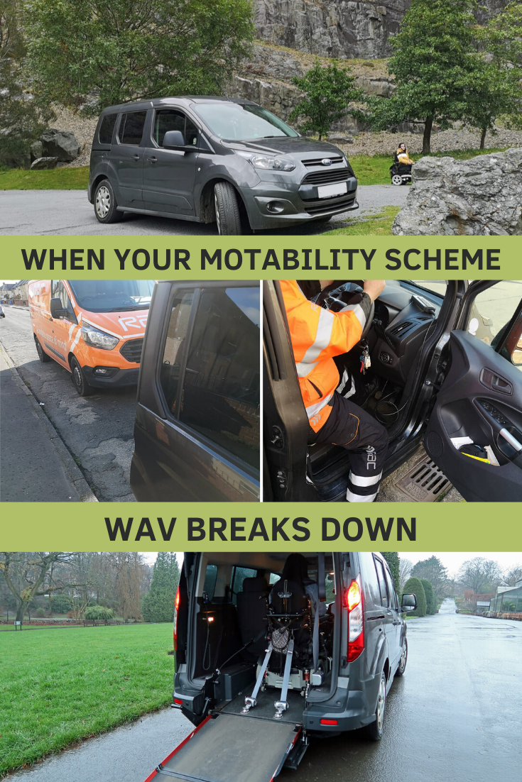 When you Motability Scheme WAV Breaks Down