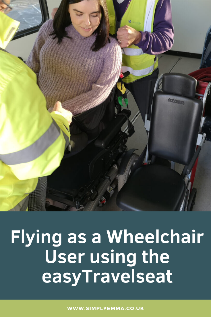 Flying as a Wheelchair User using the easyTravelseat