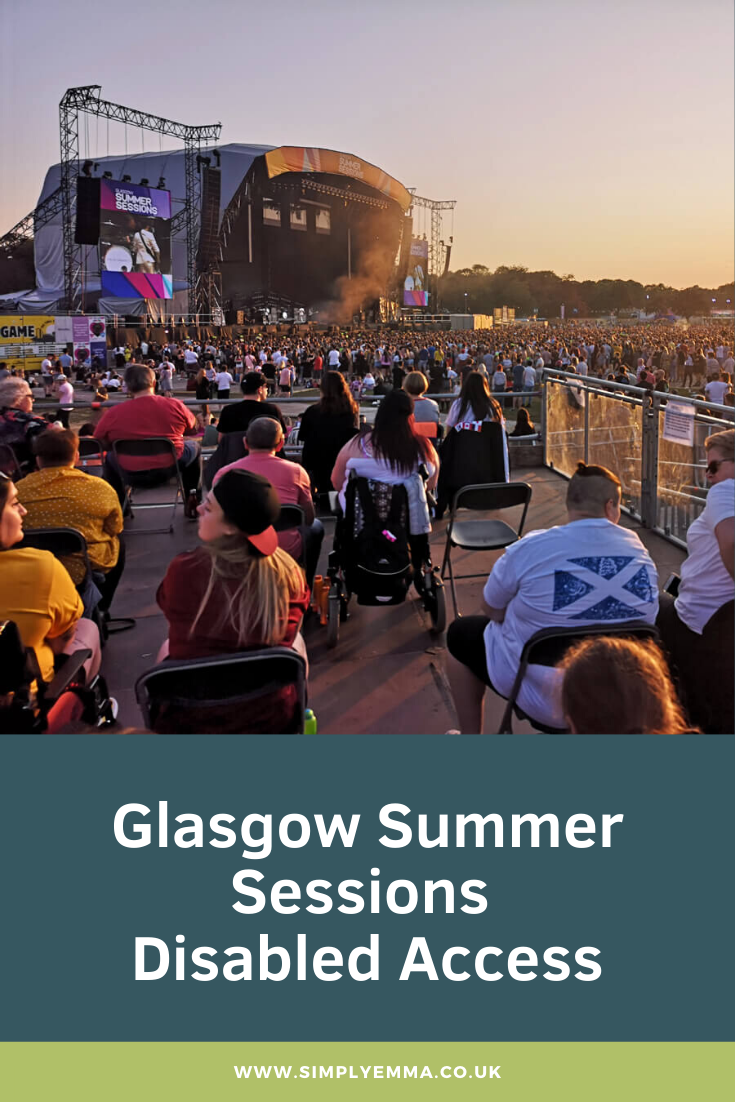 Glasgow Summer Sessions Disabled Access