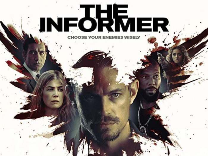 Movie poster for 'The Informer'