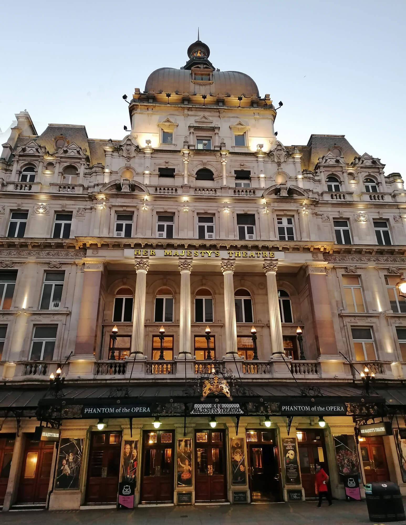 The Phantom of the Opera Her Majesty's Theatre